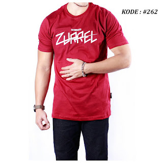 KOAS ZURREL ORIGINAL WARNA MERAH #262