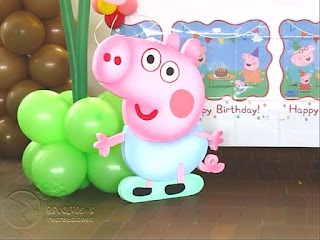DECORACION PEPPA PIG RECREACIONISTAS MEDELLIN 2