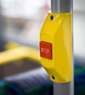 Bilderesultat for stoppknapp på buss