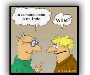 dialogo de comunicación entre dos personas que hablan diferentes idiomas.