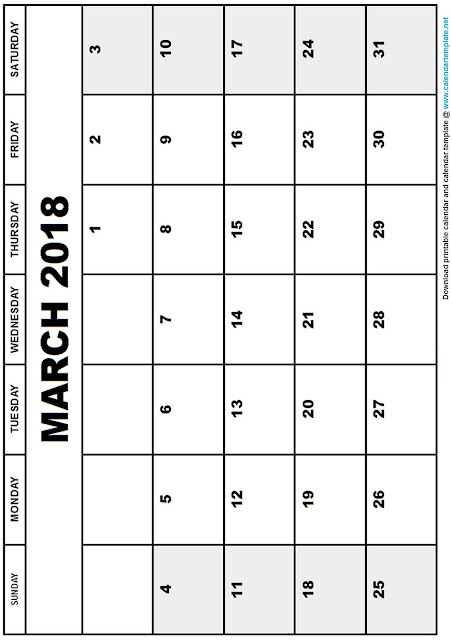 march-month-printable-blank-calendar-2018