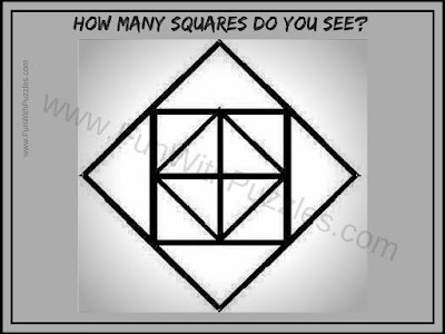 Puzzle to counting number of squares in puzzle picture
