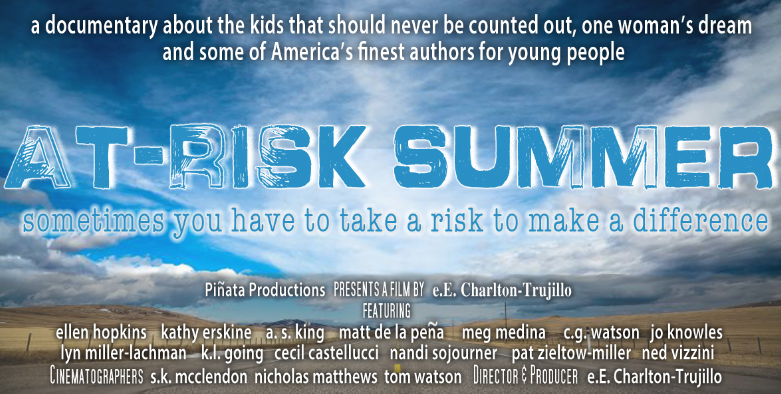 At Risk Summer Movie Screening 10/20/14 6:30 p.m. With e.E. Charlton-Trujillo, author of Fat Angie