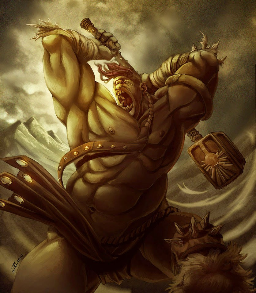 Man, Myth and Magic: Mythical Creatures: Giants of Greece ...