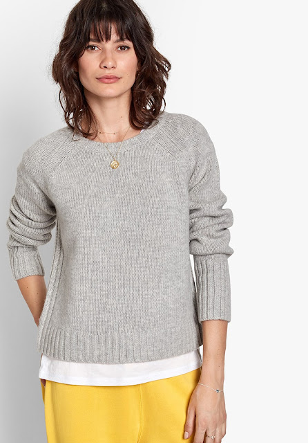 Hush Wool/Cashmere crew Neck Jumper