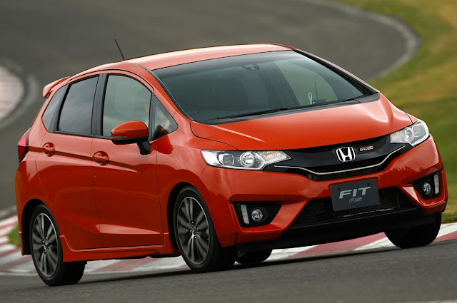2015 Honda Fit RS driving