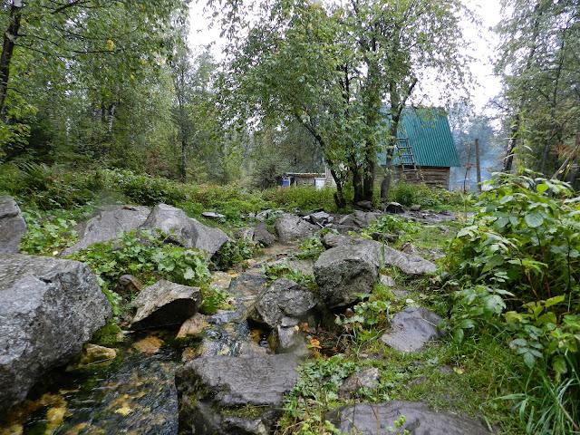 Приют Белый ключ в национальном парке Таганай