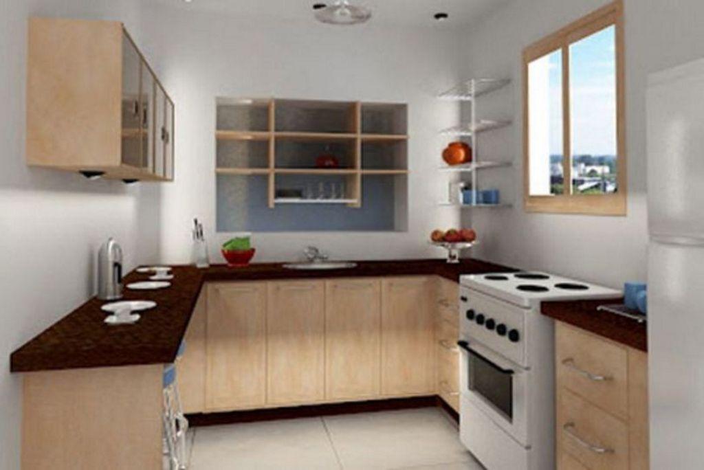 Contoh Desain Interior Dapur Bentuk U Terkini