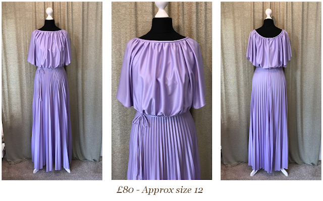 Lilac bridesmaid dress size 10 from vintage lane bridal shop in bolton lancashire