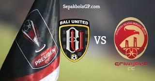 Susunan Pemain Bali United vs Sriwijaya FC