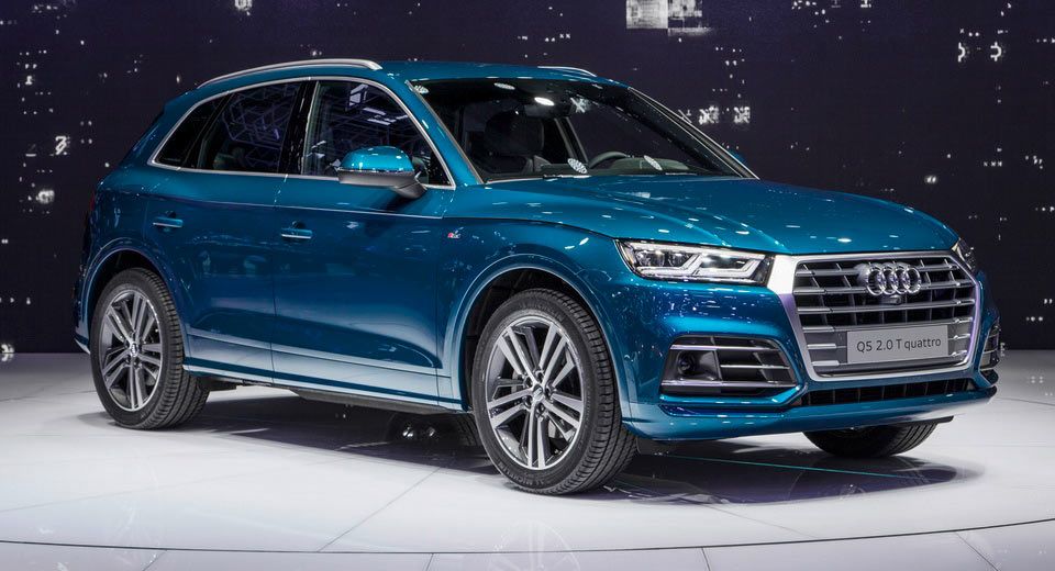 all new 2017 audi q5 from the paris show floor. Black Bedroom Furniture Sets. Home Design Ideas