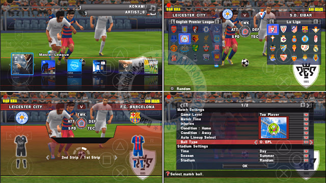 Game PES Galaxy V4 Update Full KitServer 2017 ISO Fix