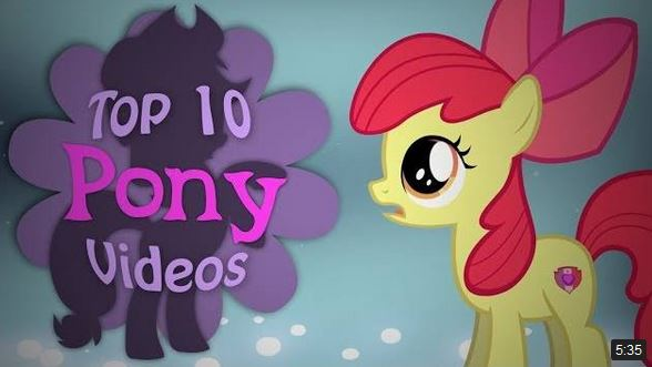The Top 10 Pony Videos Of November 2017