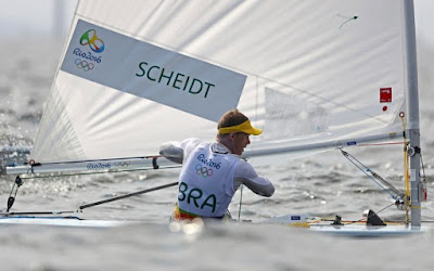 Brazilian Robert Scheidt Says Good Bye for His Sixth Edition of Olympic Games without Medal