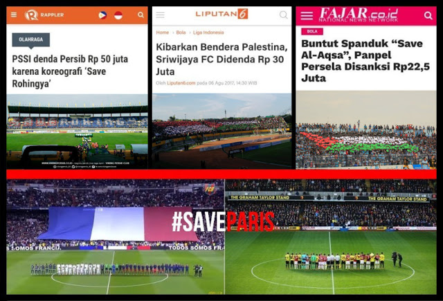 Save Paris - Save London Aman, Save Palestina - Save Rohingya Kena Denda
