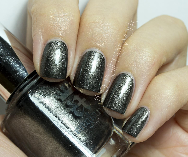 Gunmetal Grey Metallic Paint Code
