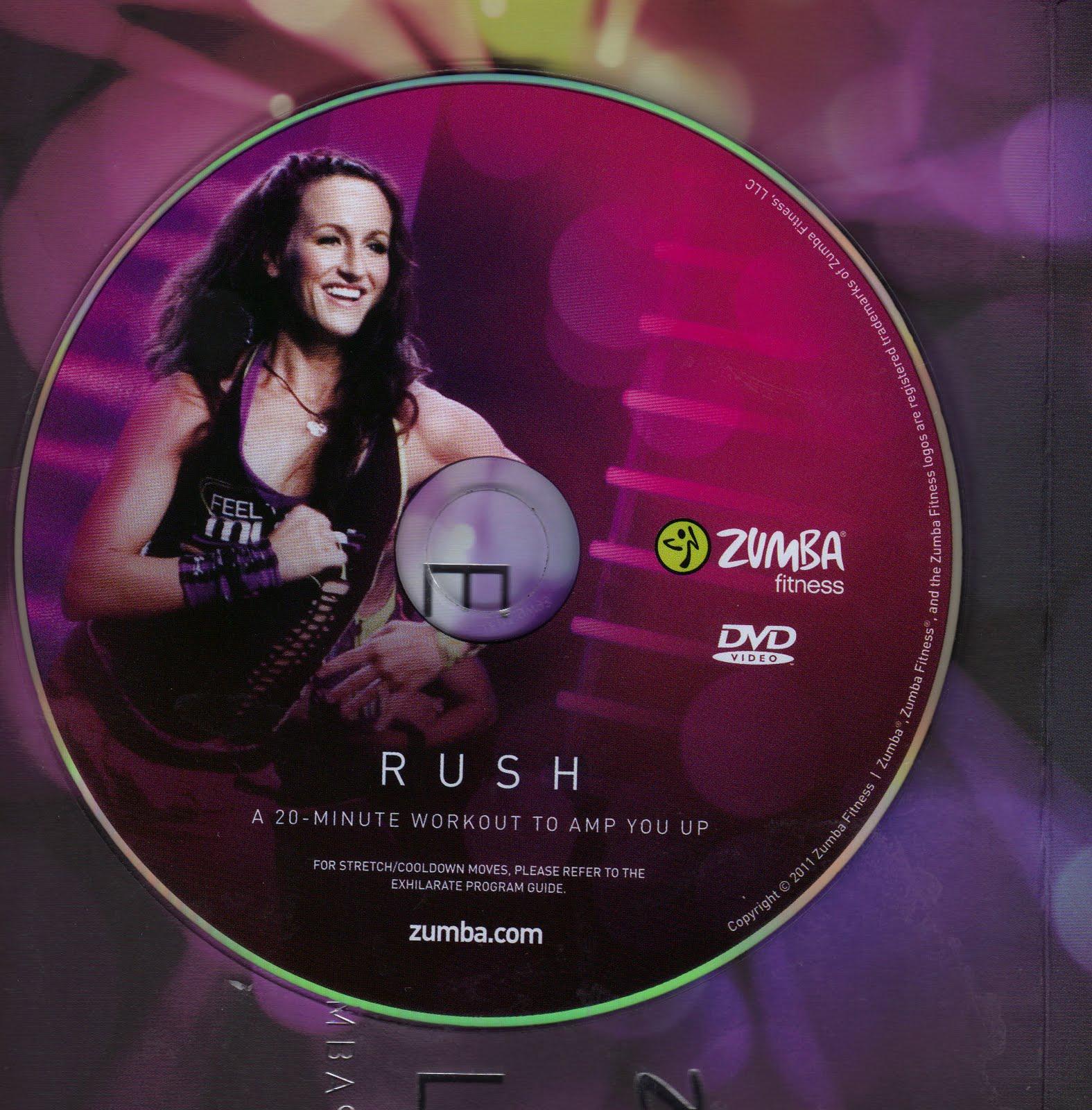 Saundra: Zumba Rush - Thoughts