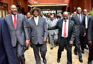 Uhuru, Mudavadi and kagame