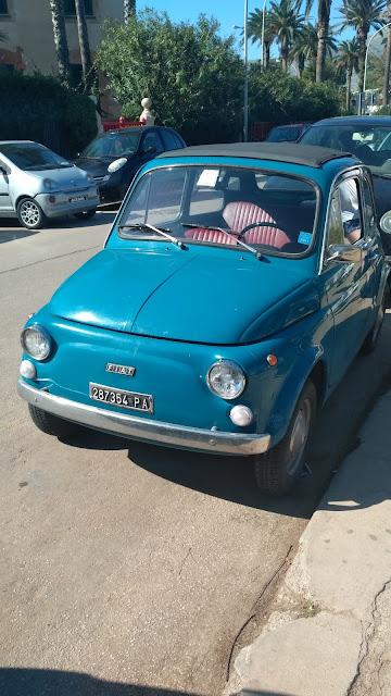Fiat Panda na Sycylii, zabytek, Fiat 500