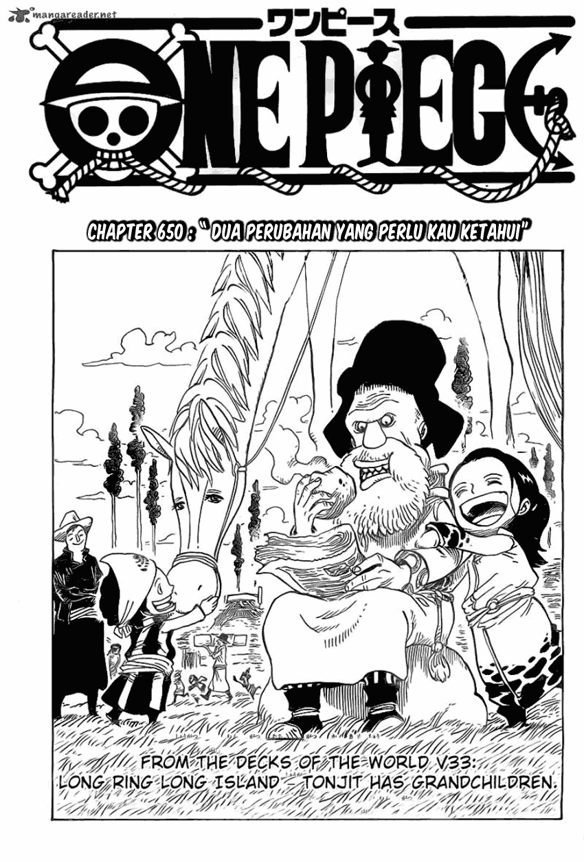 1 One Piece 650   Dua Perubahan yang Perlu Kau Ketahui