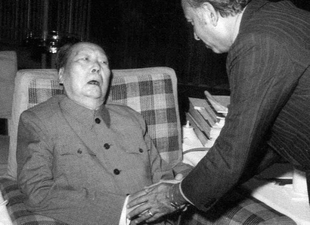 The photos from this meeting were last photos of Chairman Mao — and they made abundantly clear to everyone, including Mao, that he would not be alive much longer.