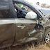 Homem perde o controle de veículo que capota na principal rodovia do Cariri
