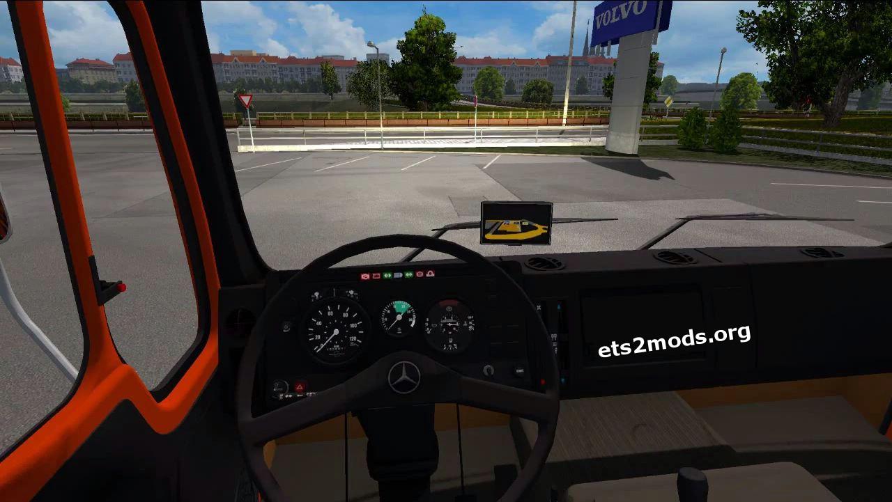 Truck - Mercedes NG1631 Deutrans V 2.0