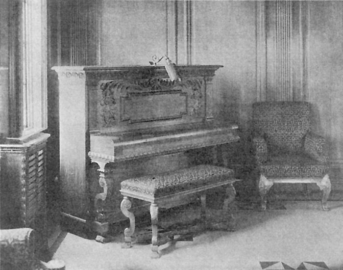 Titanic Piano Titanic S First Class Pianos