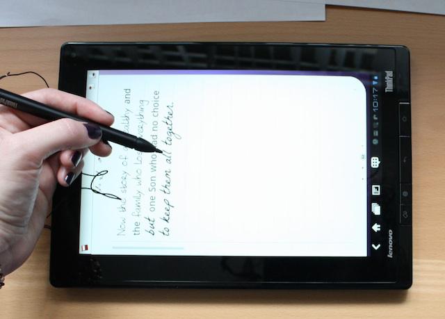 handwriting tablets