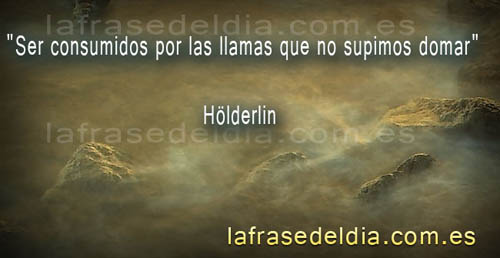 Citas famosas de  Hölderlin