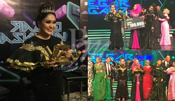 Azharina Juara GegarVaganza 3, Bawa Pulang Hadiah Bernilai RM211,111