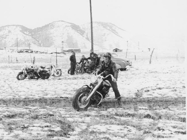 Before There Were Dirt Bikes... ~ Riding Vintage