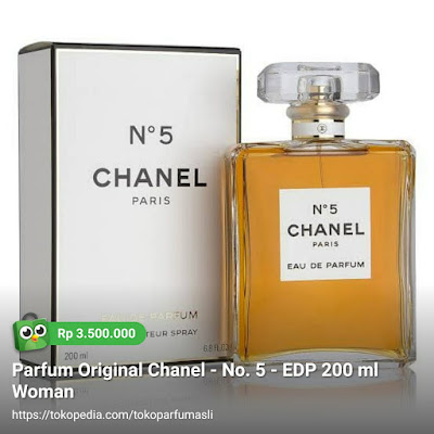 chanel no 5 edp 200ml woman