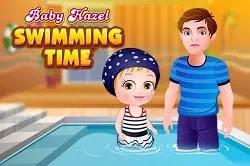Bebek Elâ Yüzme Zamanı - Baby Hazel Swimming Time