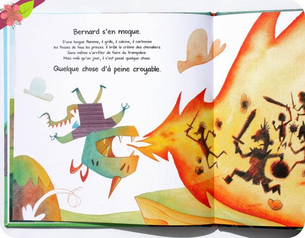 Le dragon qui crachait n'importe quoi de Sylvain Zorzin et Brice Follet - éditions Père Fouettard