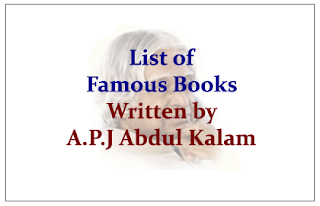 List of Famous Books Written by A.P.J Abdul Kalam
