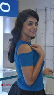 Telugu Actress Yamini Bhaskar Latest Pos in Blue Top and Black Skirt  0009.jpg
