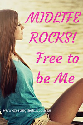 "Midlife Rocks! At last I've found the headspace to find ""me"" and be ""me"""