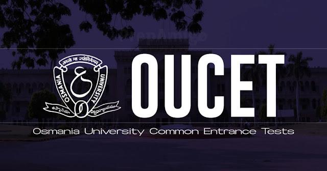 OUCET 2018-2019 Exam Centers list - OU PGCET