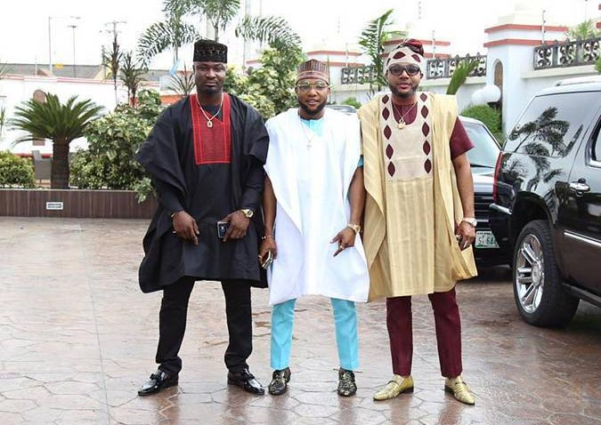 E-money Vs Kcee Vs Harrysong: Who Rocked The Agbada Best