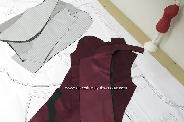 tutorial chaqueta con forro
