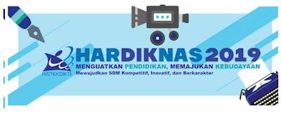 Logo hari pendidikan nasional 2019