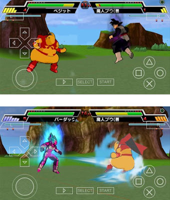 Download Dragon Ball Super Shin Budokai v3 CSO PPSSPP + Setting
