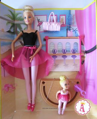 Куклы барби из игрового набора Barbie Ballet Instructor
