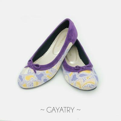 Sepatu Batik The Warna: Gayatri