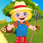 G4K Cute Farmer Escape Ga…