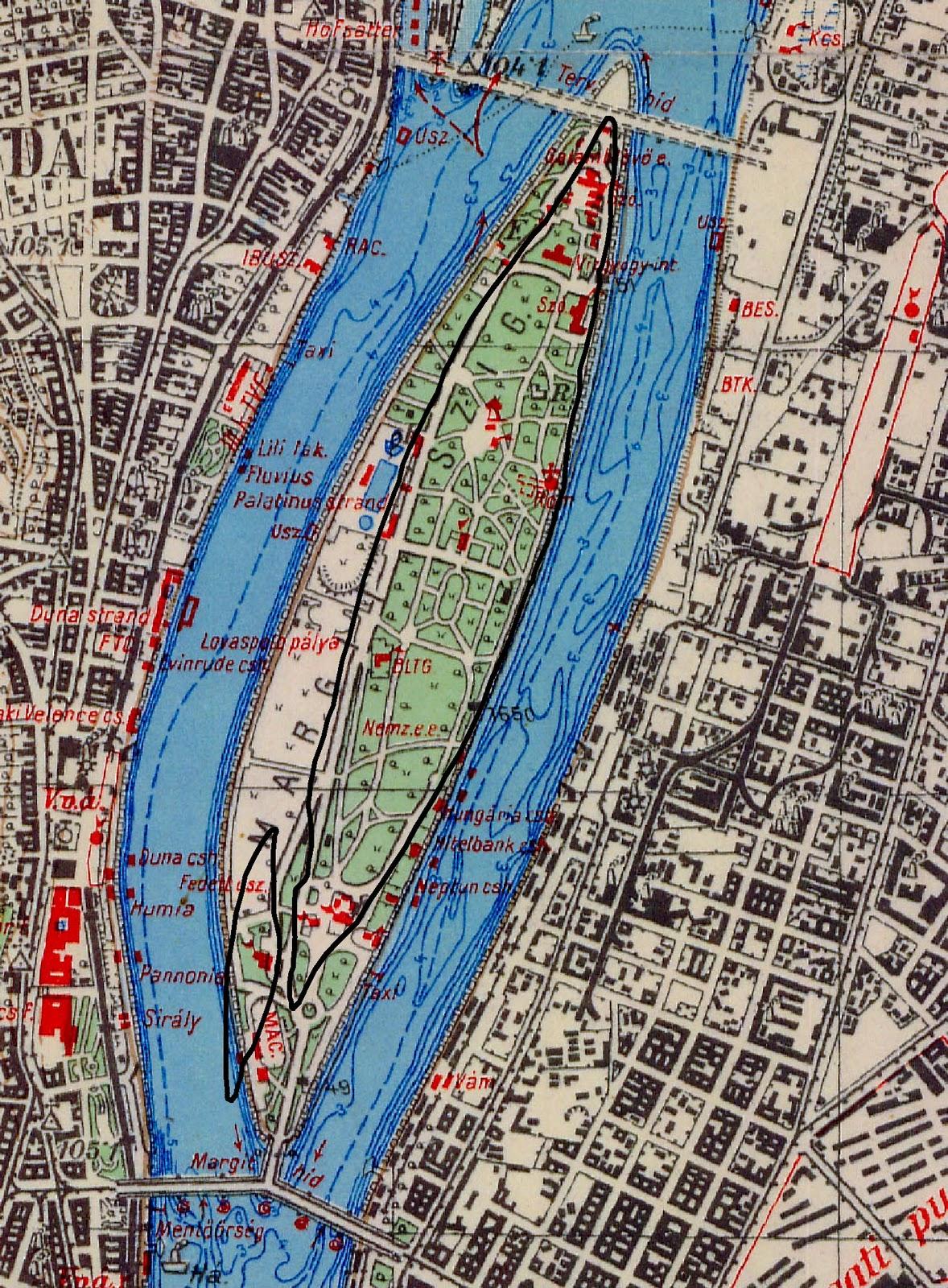 budapest térkép hajógyári sziget Dunai Szigetek: A felhizlalt Margit sziget budapest térkép hajógyári sziget