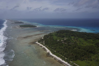 Marshall Islands, Kwajalein Atoll, sea-level rise, climate change
