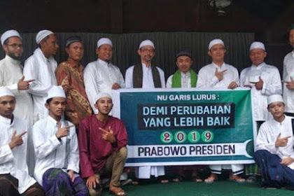 NU Garis Lurus Deklarasi Dukung Prabowo-Sandi, Siap Gerus Suara NU Kultural yang ke 01