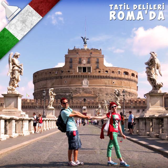 Deliyiz, gözü kara deliyiz. Gezeriz, Roma'yı da gezeriz...